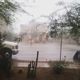 monsoon rains begin